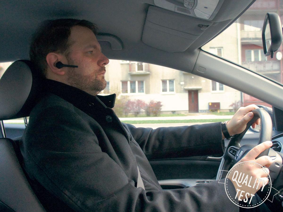 Za kierownicą1a - Słuchawka Bluetooth nie tylko dla kierowców