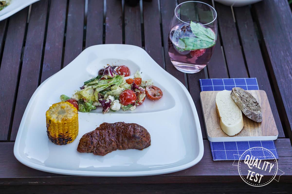 20 stek z grilla - Nowoczesne grillowanie - od przepisów po zastawę