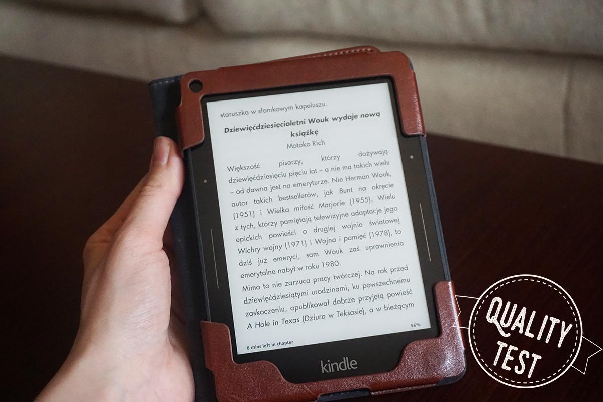 kindle9 - Jaki czytnik wybrać i dlaczego Kindle?