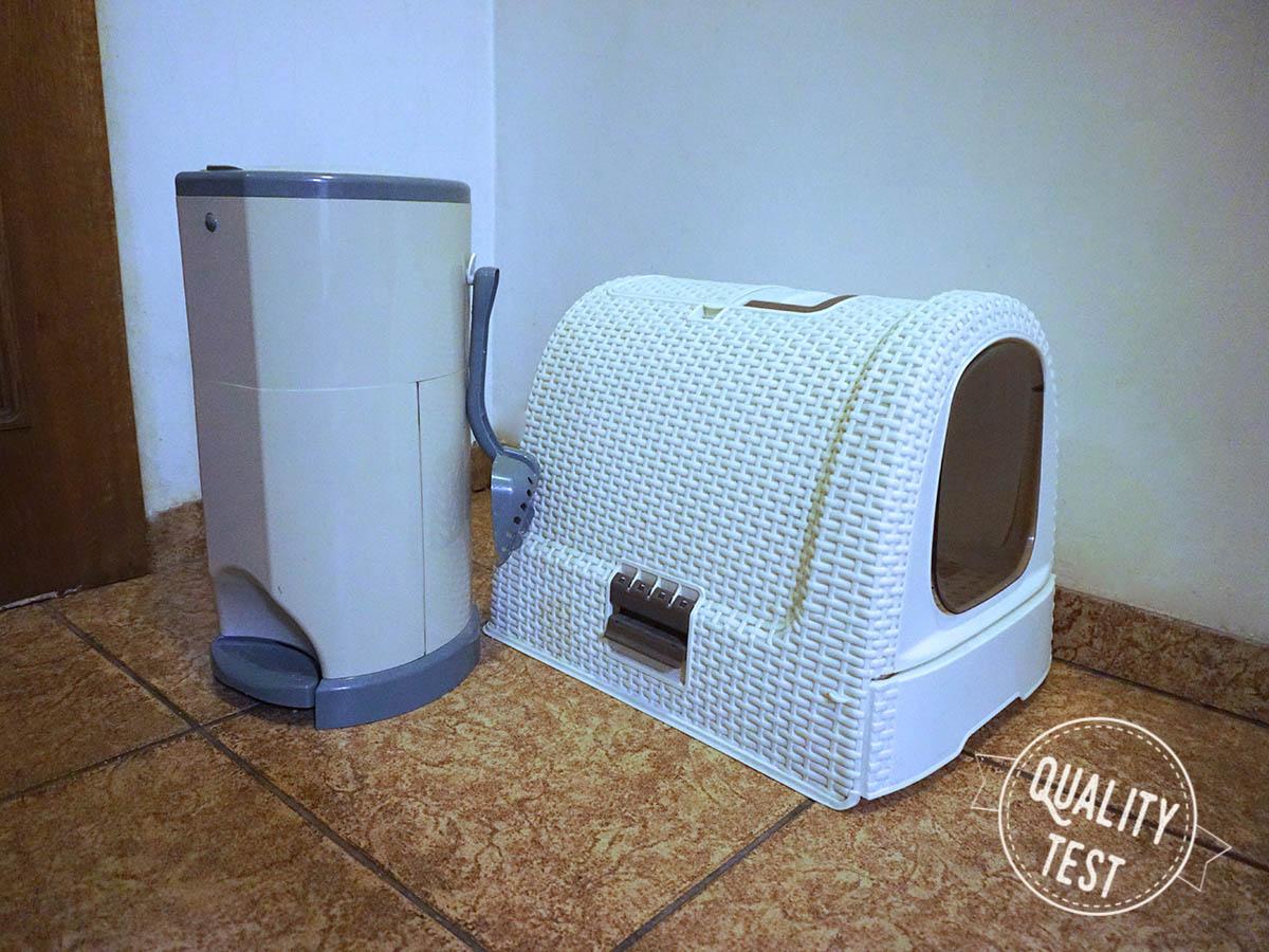 kuweta curver2 - Designerskie akcesoria dla kotów