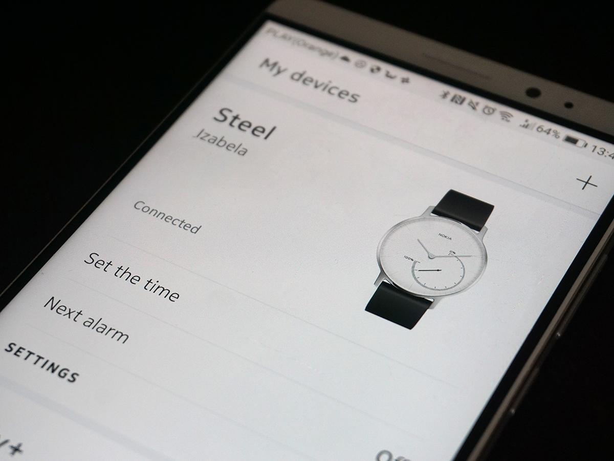 nokia18 - Nokia Health - smartwatch i waga inne niż wszystkie