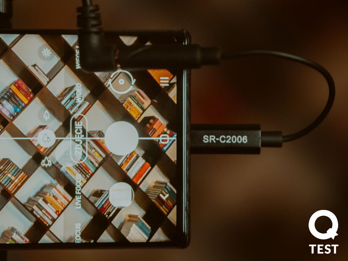 Adapter Mini Jack Usb C Saramonic Sr C2006 - Mikrofony Saramonic – niech cię dobrze słyszą