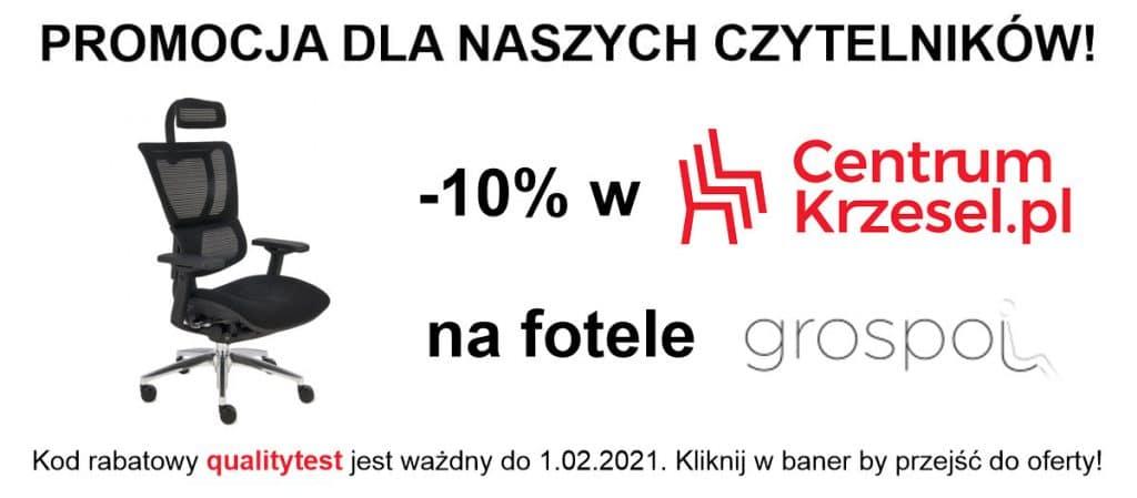 Baner 2 1024x449 - Ergonomiczny fotel biurowy Grospol Ioo - Zadbaj o siebie i pracowników!