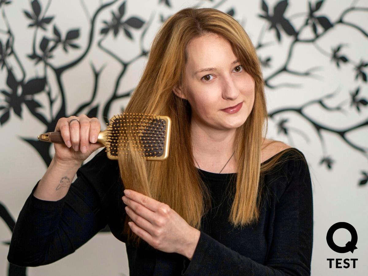 Czesanie wlosow 3 - Suszarka do włosów Panasonic EH-NA98 – pielęgnacja włosów i… skóry