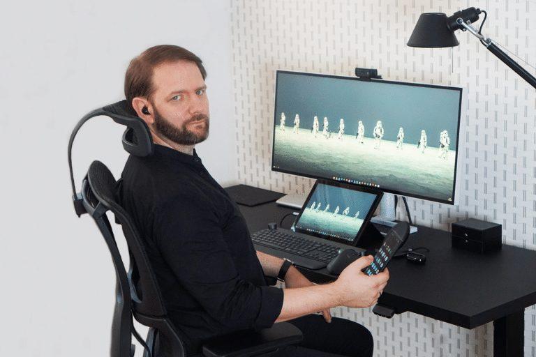 Fotel ergonomiczny Grospol Ioo 768x512 1 - Ergonomiczny fotel biurowy Grospol Ioo - Zadbaj o siebie i pracowników!