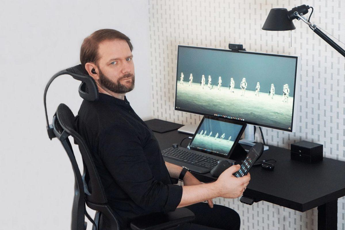 Fotel ergonomiczny Grospol Ioo - Ergonomiczny fotel biurowy Grospol Ioo - Zadbaj o siebie i pracowników!