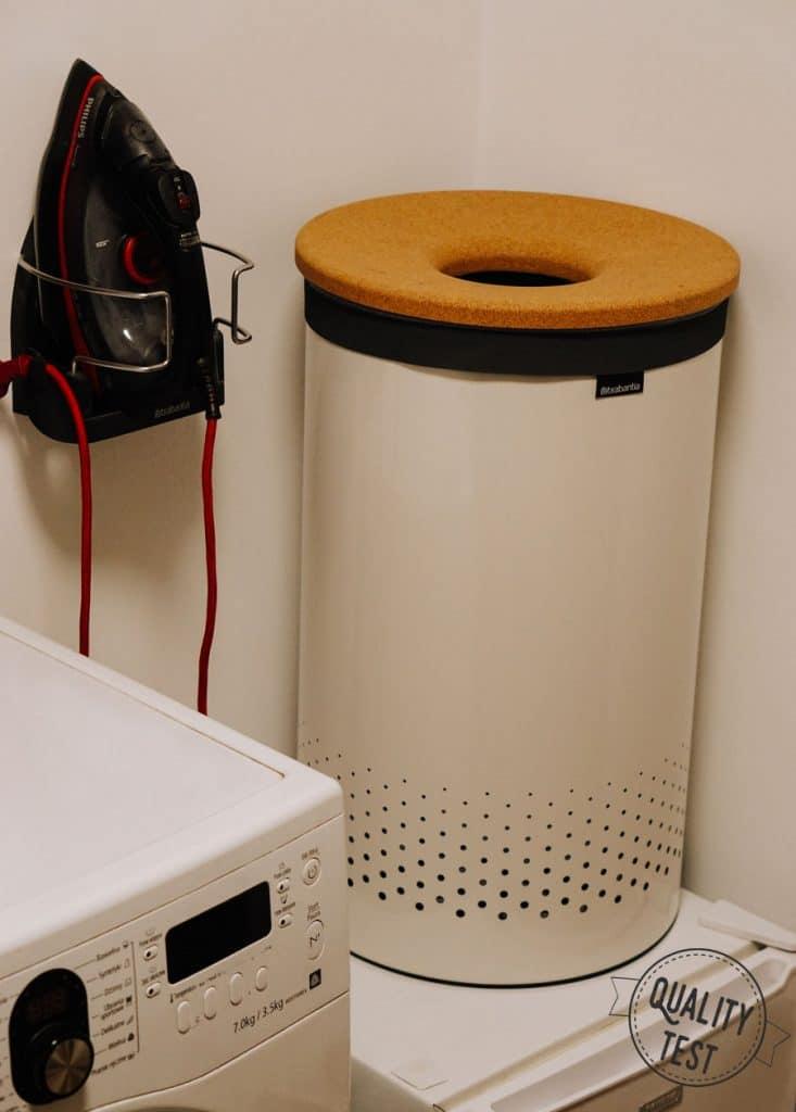 Kosz na pranie Brabantia 733x1024 - Wygodne pranie z Brabantia
