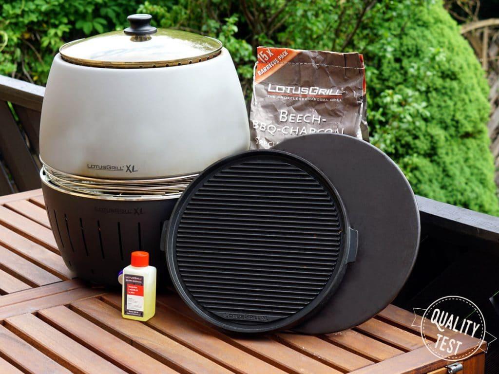 LotusGrill akcesoria 1024x768 - LotusGrill – Innowacyjny grill na każdą pogodę