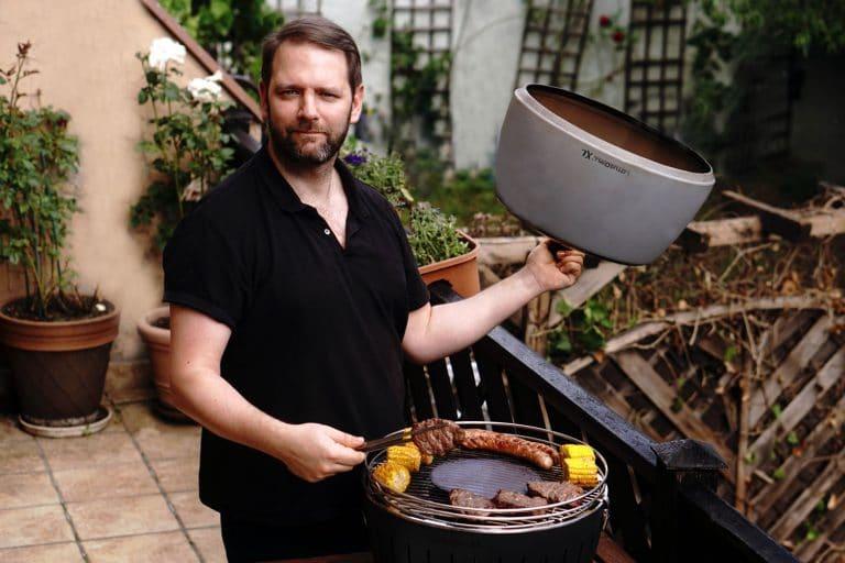 LotusGrill w ogrodzie 768x512 - LotusGrill – Innowacyjny grill na każdą pogodę