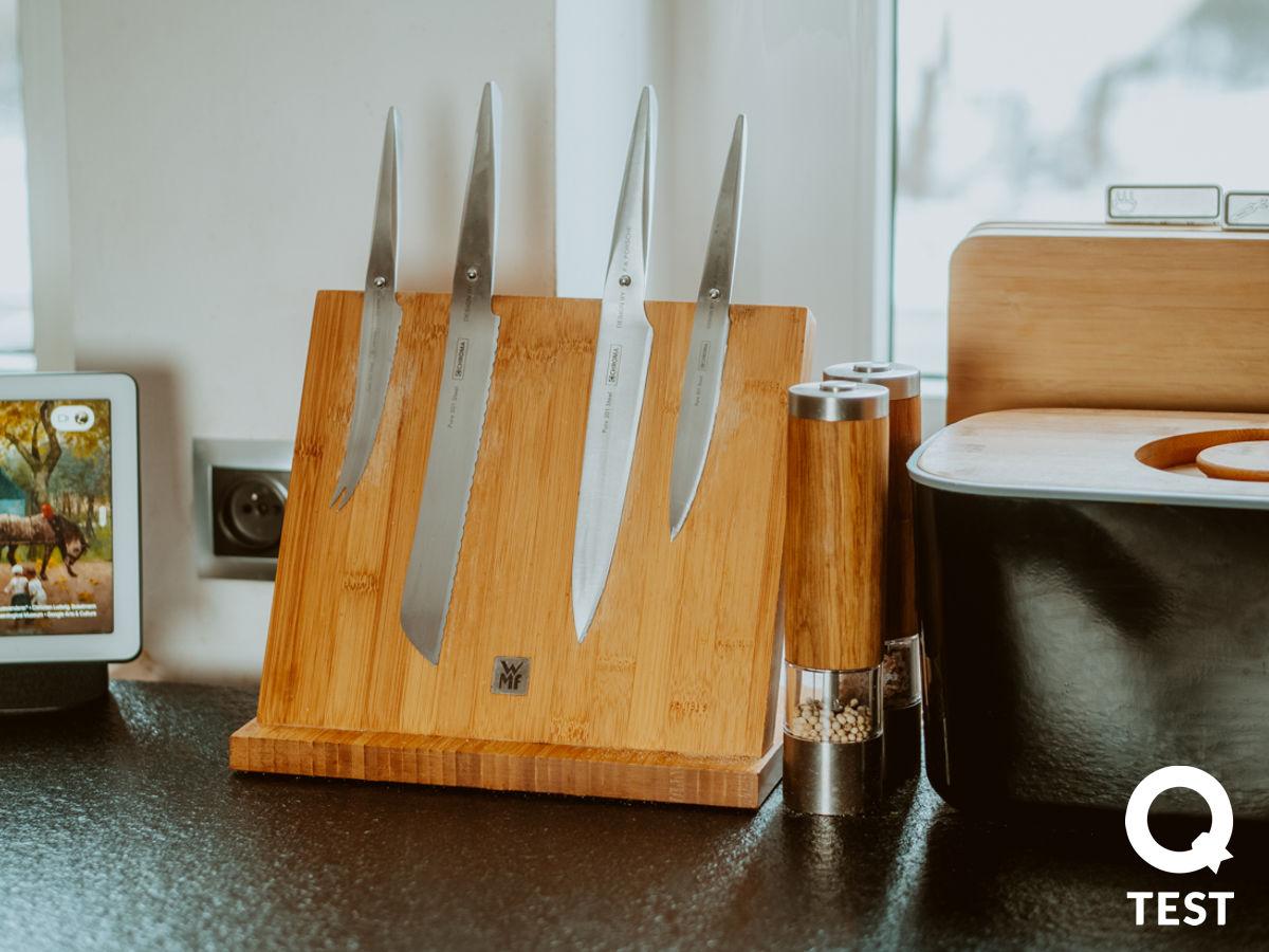 Magnetyczny stojak na noze WMF - Designerskie gadżety kuchenne - 10 sprawdzonych rozwiązań, które ułatwią Ci życie
