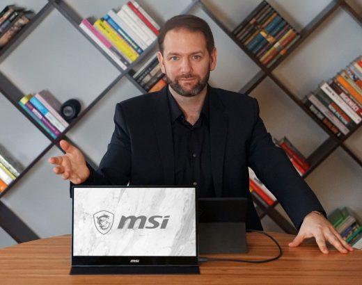 Monitor przenosny MSI OPTIX MAG161v 520x410 - Monitor przenośny MSI OPTIX MAG161V – ultramobilna produktywność