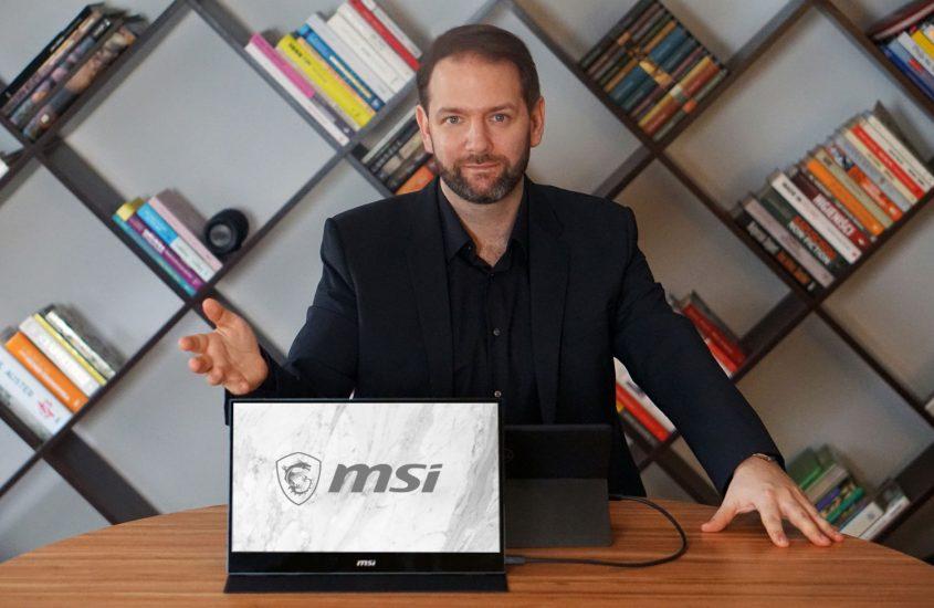 Monitor przenośny MSI OPTIX MAG161V – ultramobilna produktywność