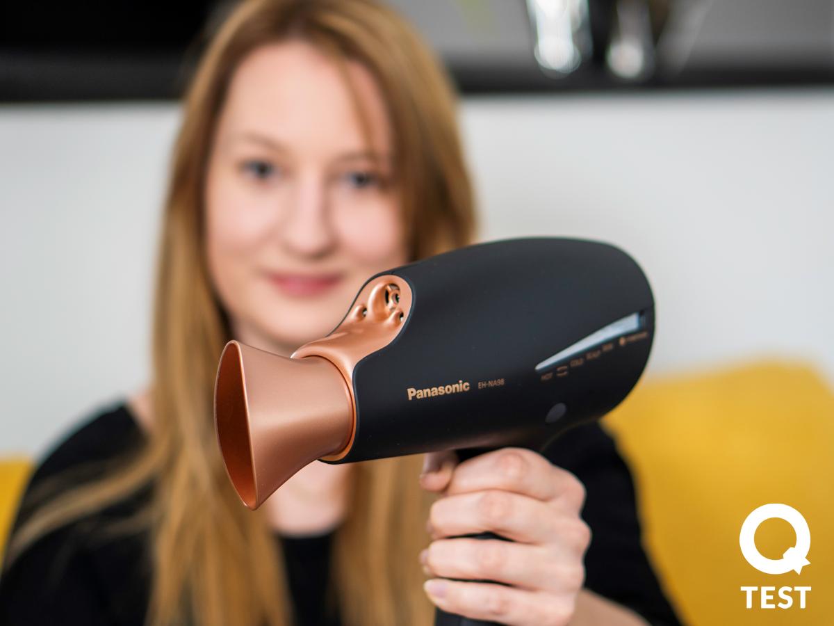 Panasonic EH NA98 nanoe 2 - Suszarka do włosów Panasonic EH-NA98 – pielęgnacja włosów i… skóry