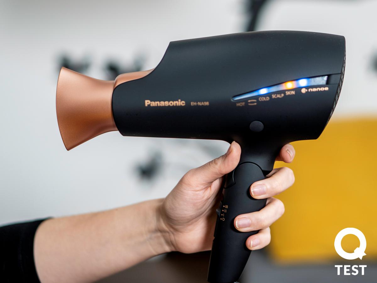Panasonic EH NA98 programy 2 - Suszarka do włosów Panasonic EH-NA98 – pielęgnacja włosów i… skóry