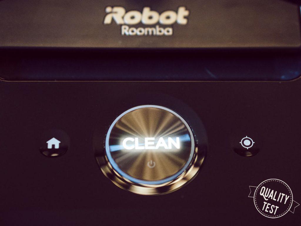 Roomba przyciski 1 1024x768 - iRobot Roomba i7 plus – prawdziwie autonomiczny odkurzacz