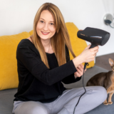 Suszarka do włosów Panasonic EH-NA98 – pielęgnacja włosów i… skóry