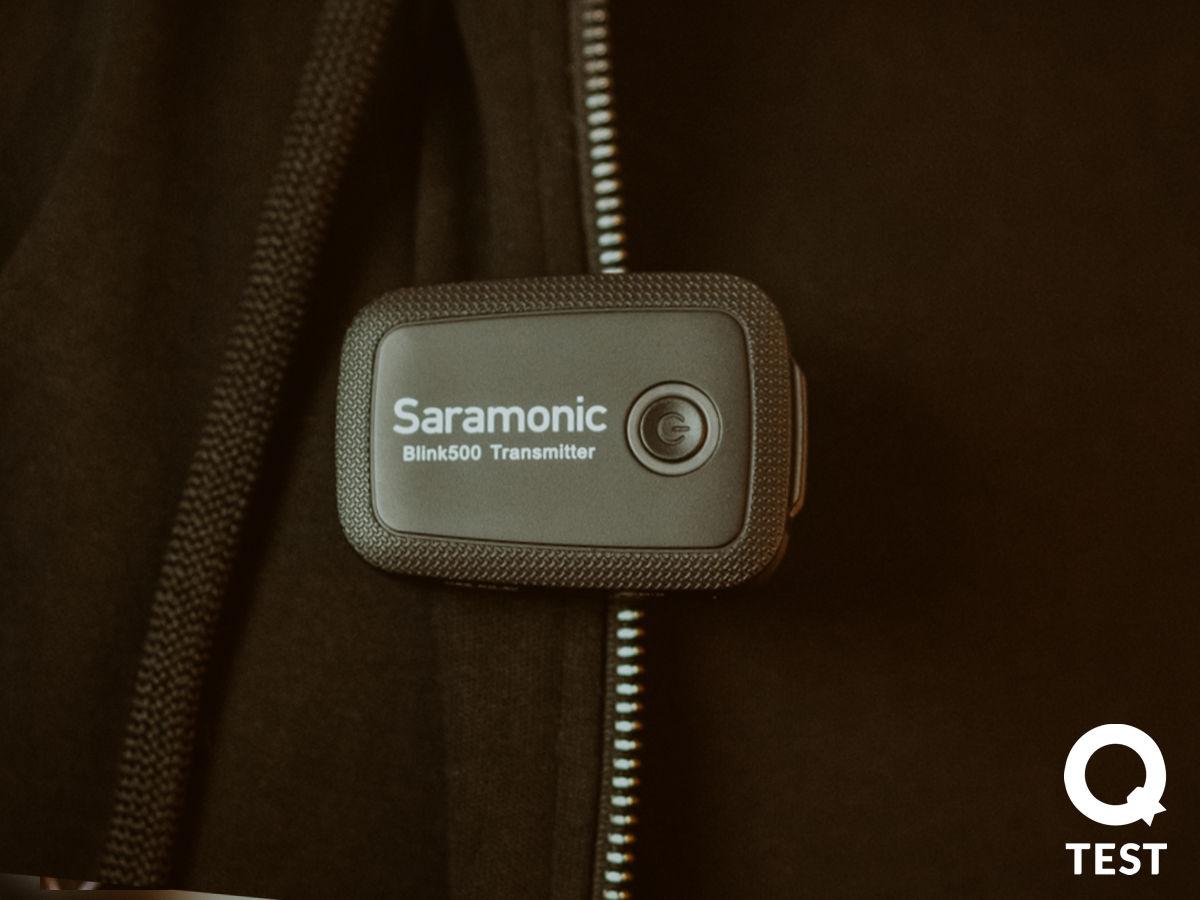 Saramonic Blink 500 - Mikrofony Saramonic – niech cię dobrze słyszą