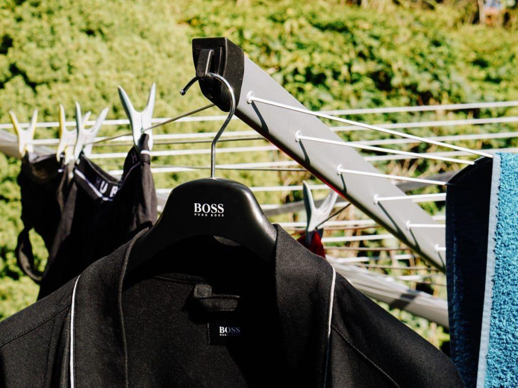 Suszarka ogrodowa Brabantia Lift O Matic Advance zbliżenie 1024x768 - Wygodne pranie z Brabantia