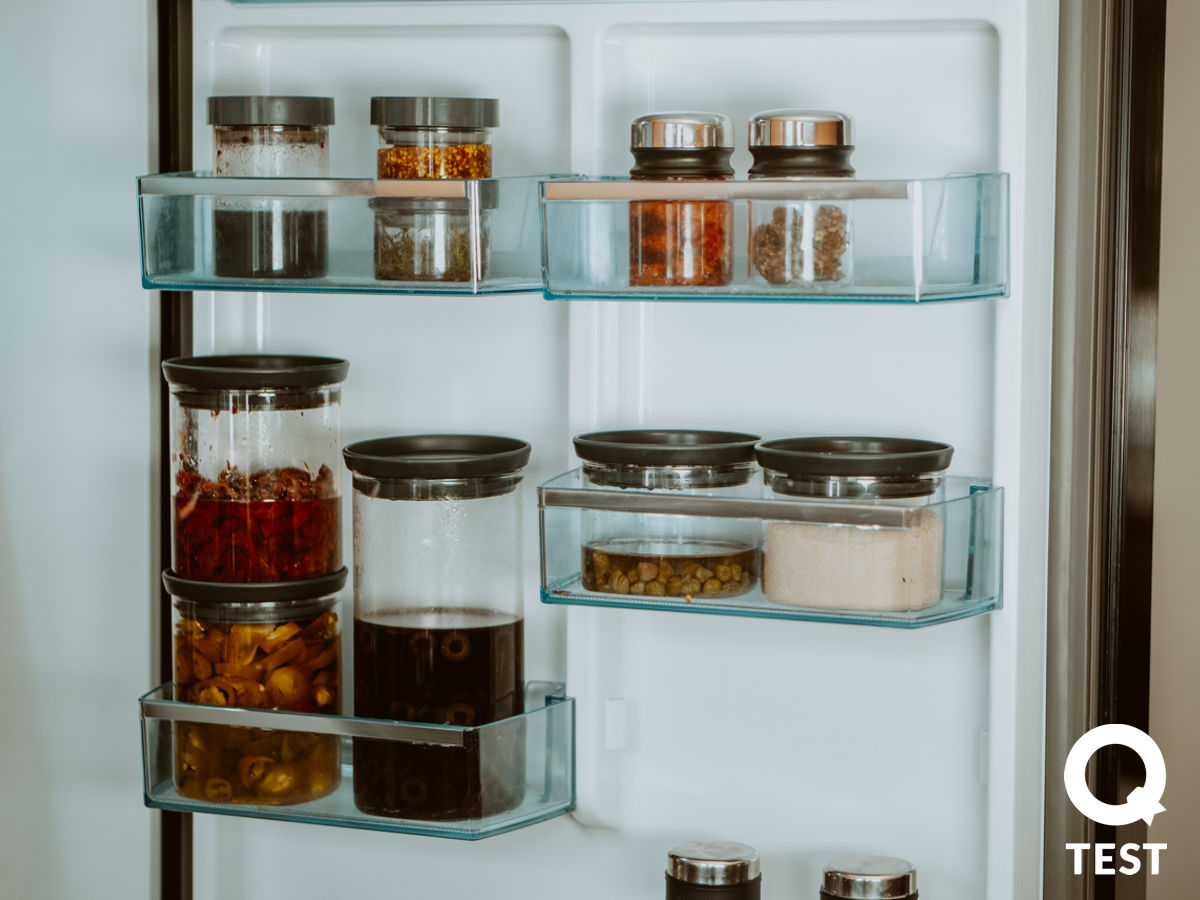 Szklane pojemniki kuchenne Brabantia - Designerskie gadżety kuchenne - 10 sprawdzonych rozwiązań, które ułatwią Ci życie