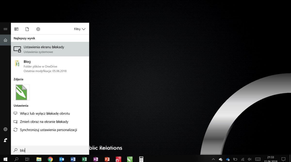 Windows Pasek Szukaj - Pracuj wydajniej, czyli optymalizacja Windows 10