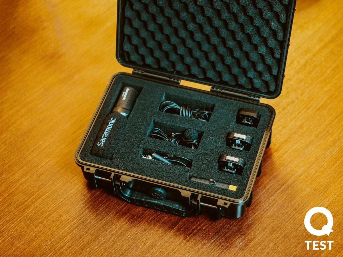 Wodoszczelna walizka transportowa Saramonic SR C6 - Mikrofony Saramonic – niech cię dobrze słyszą