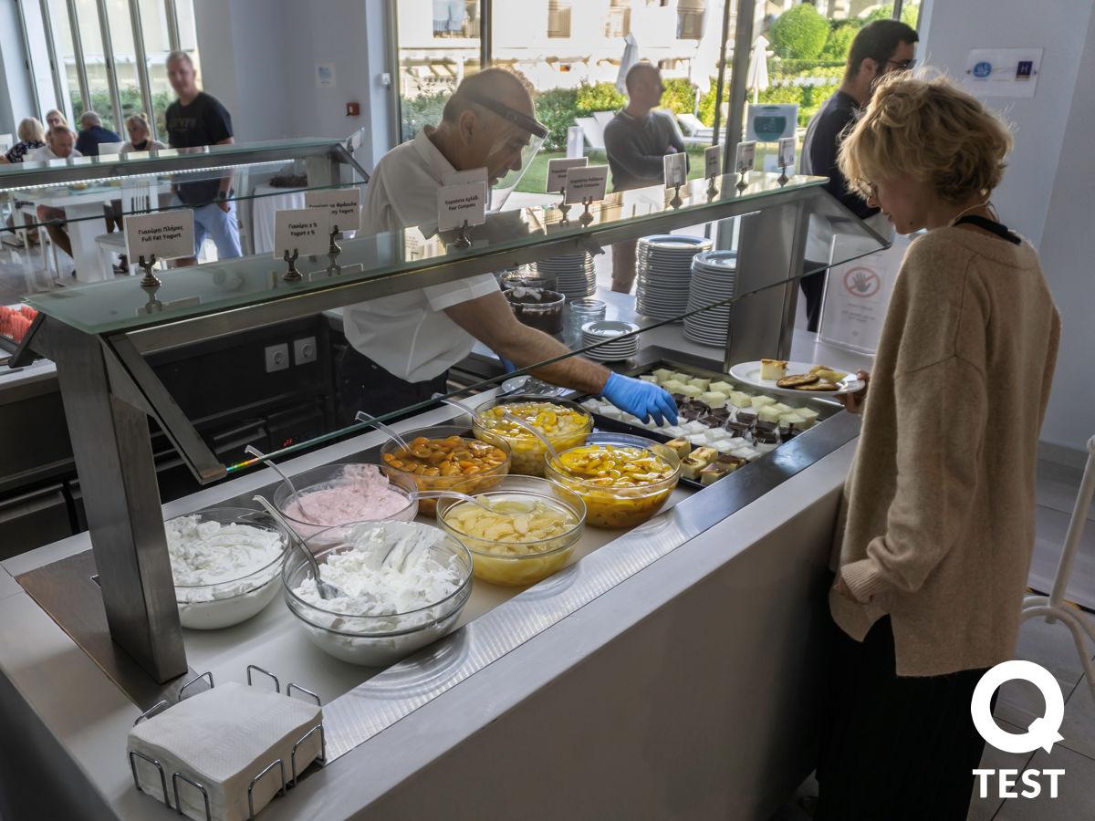 Zante Park Resort jedzenie 2 - ZANTE PARK RESORT & SPA – ODPOCZYNEK ALL INCLUSIVE