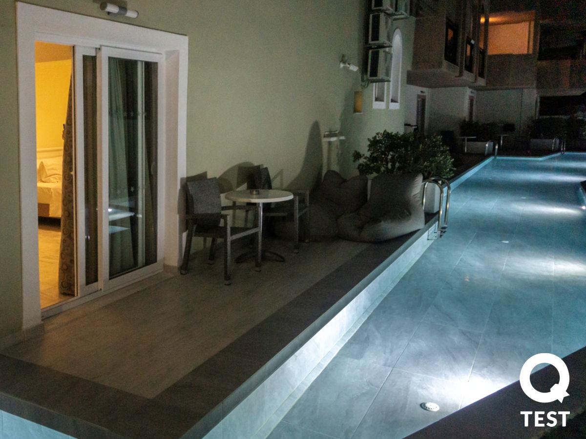 Zante Park Resort taras - ZANTE PARK RESORT & SPA – ODPOCZYNEK ALL INCLUSIVE