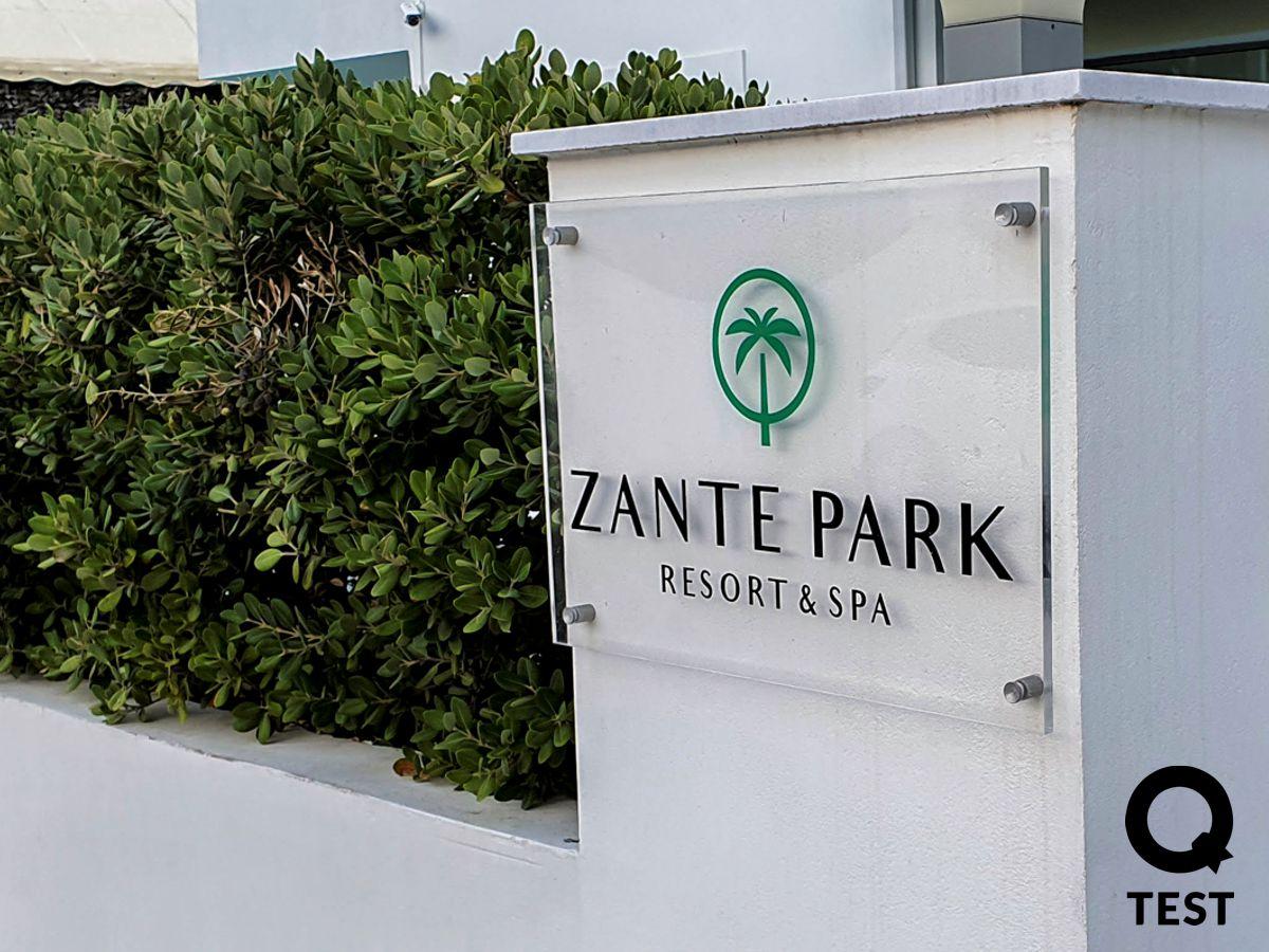 Zante Park Resort wejscie - ZANTE PARK RESORT & SPA – ODPOCZYNEK ALL INCLUSIVE