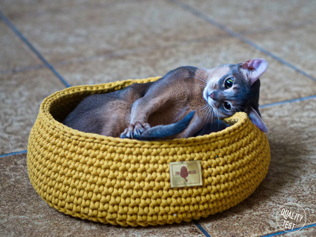 the miss cat legowisko dla kota 12 - THE MISS CAT - przytulne legowisko dla kota
