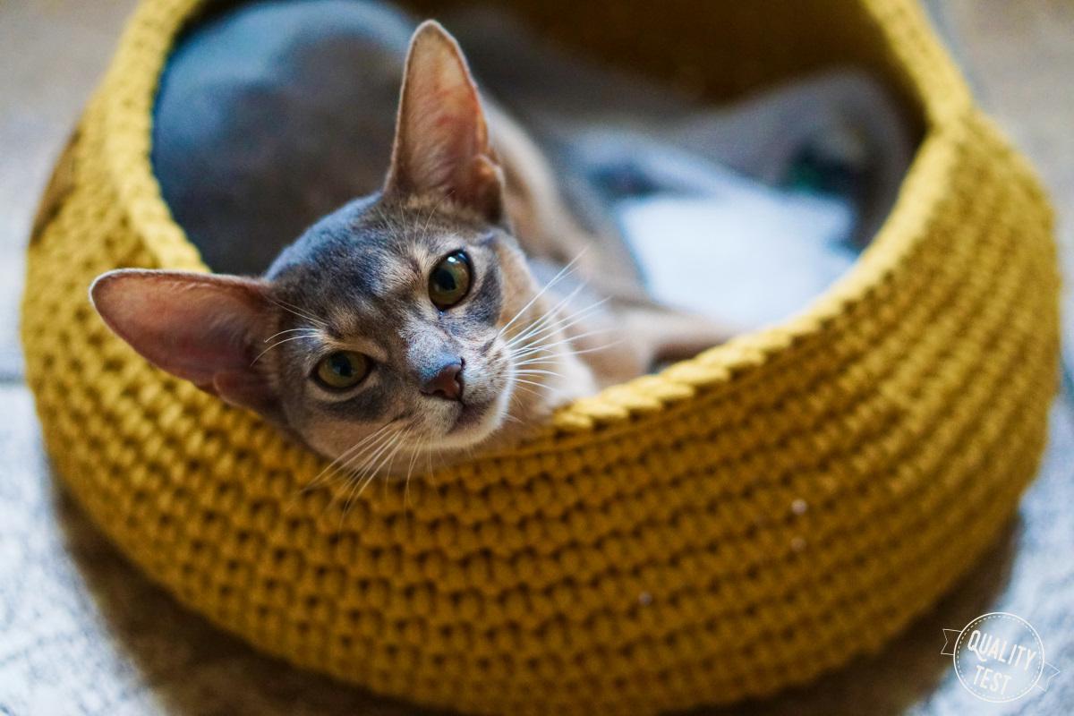 the miss cat legowisko dla kota 18 - THE MISS CAT - przytulne legowisko dla kota