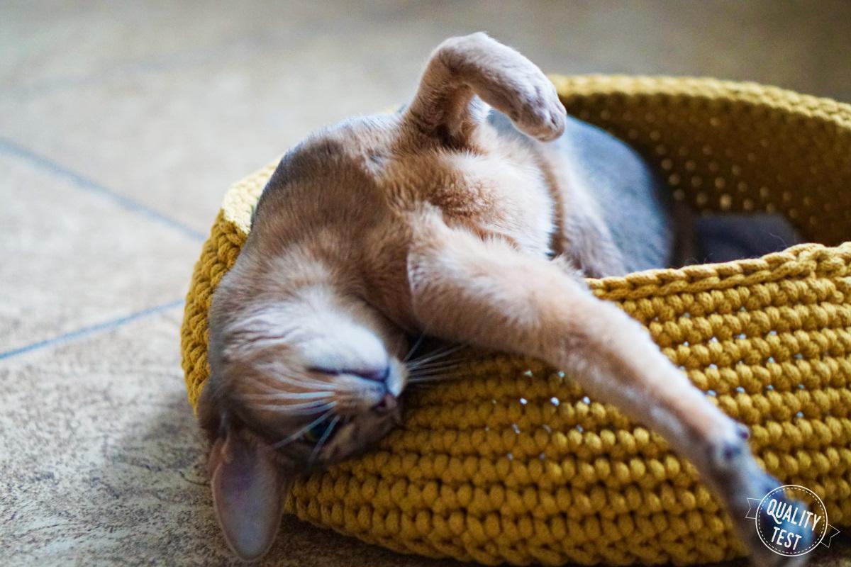 the miss cat legowisko dla kota 20 - THE MISS CAT - przytulne legowisko dla kota