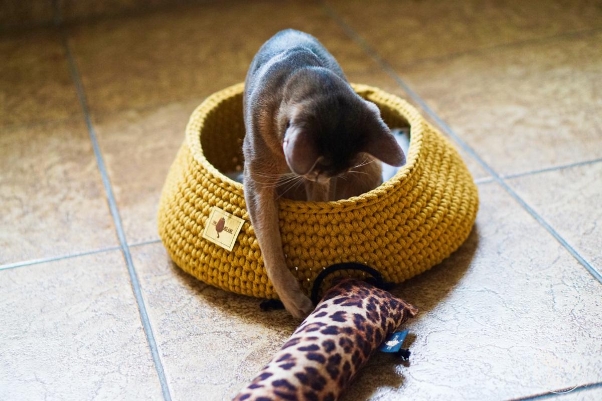 the miss cat legowisko dla kota 26 - THE MISS CAT - przytulne legowisko dla kota
