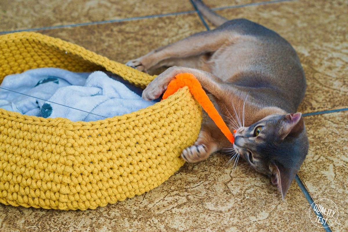 the miss cat legowisko dla kota 27 - THE MISS CAT - przytulne legowisko dla kota