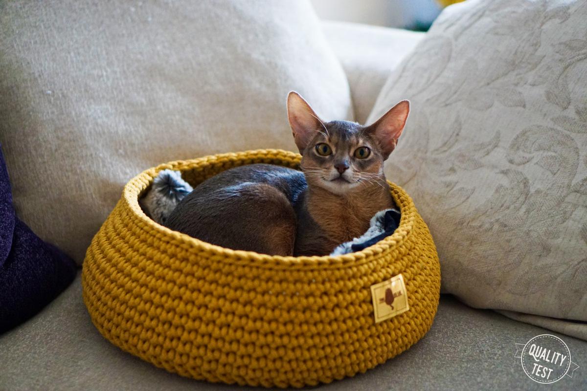 the miss cat legowisko dla kota 34 - THE MISS CAT - przytulne legowisko dla kota