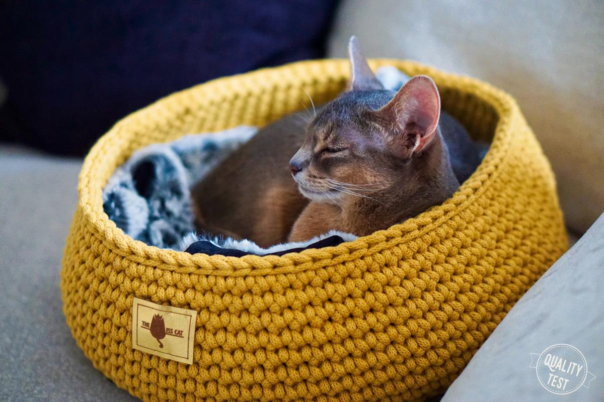 the miss cat legowisko dla kota 36 - THE MISS CAT - przytulne legowisko dla kota