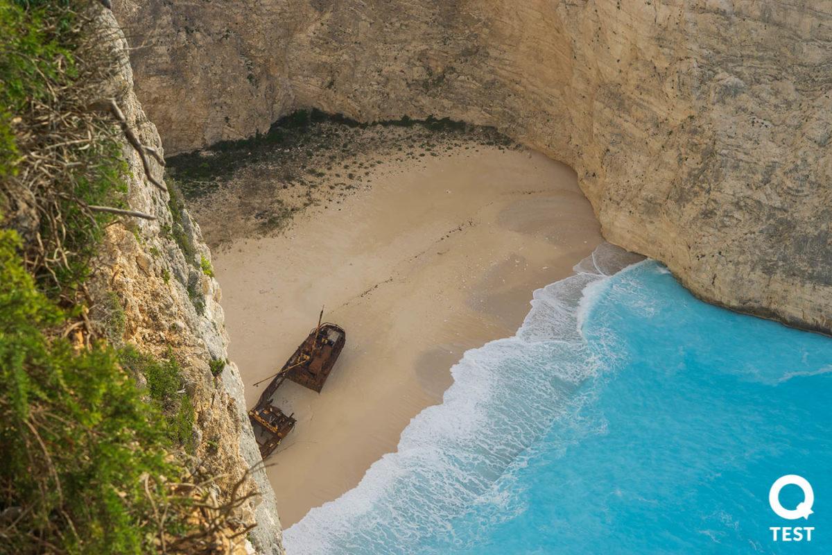 zatoka wraku 1 - Zakynthos – co warto zobaczyć na wakacjach w grecji?